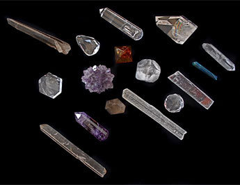 Crystals for wands.
